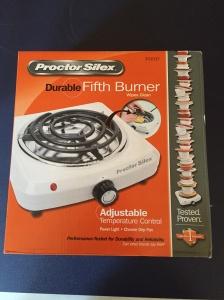 Proctor Silex Hot Plate.